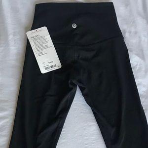 Lululemon NEW Align Pants 7/8 Black Size 2